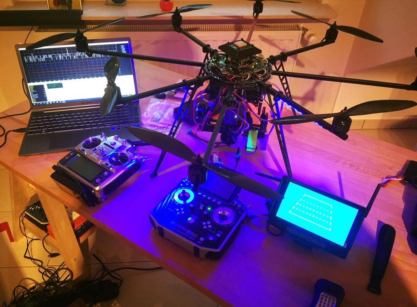 Setup Onyx Lux-Drones